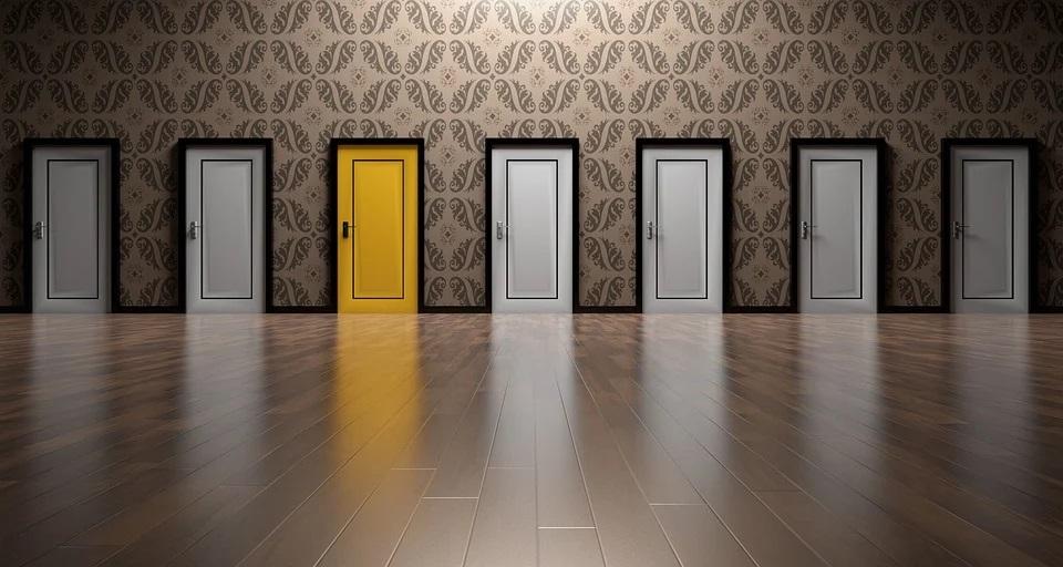 Které dveře jsou ty pravé