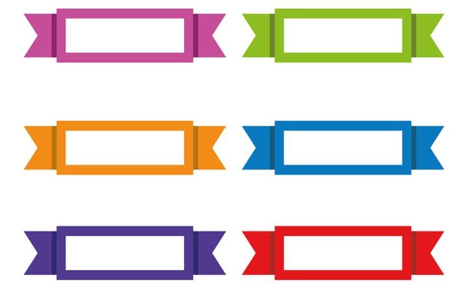 barevné štítky