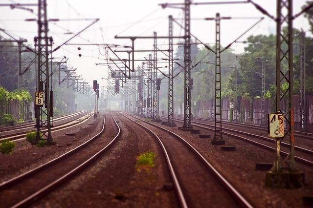 železniční trať
