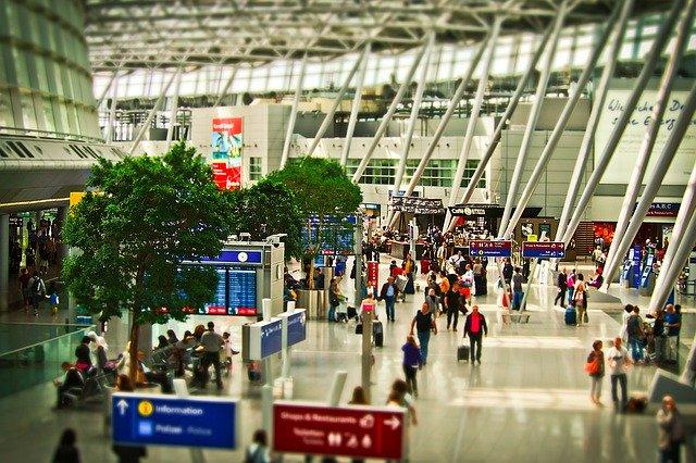 letiště, terminál