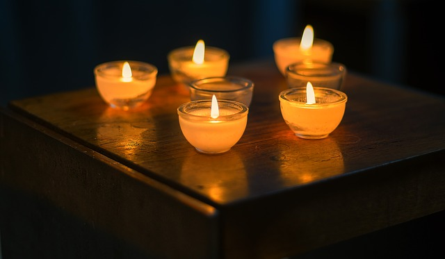 malé svíčky